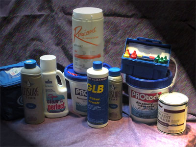 HOt Tub Supplies